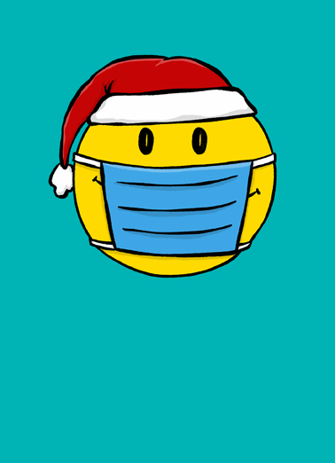 Smile Mask CF Christmas Ecard Cover