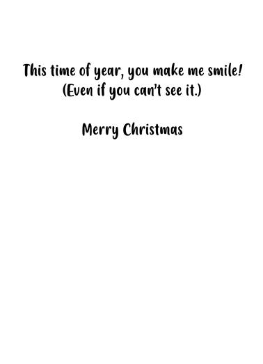 Smile Mask CF Christmas Ecard Inside