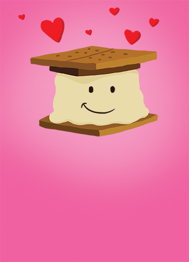 Smore Valentine's Day Card Cover