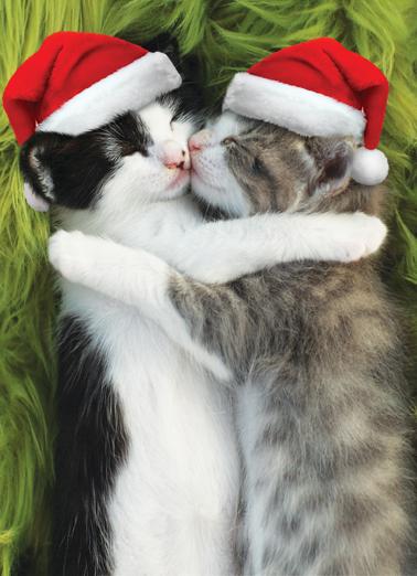 Snugs and Kisses XMAS Christmas Card Cover
