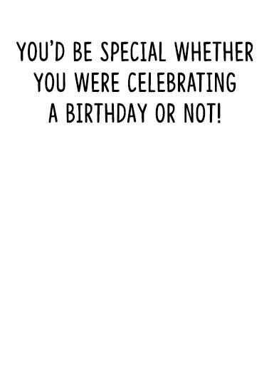 So Special Birthday Card Inside