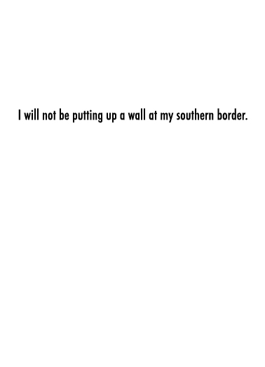 Southern Border Valentine's Day Ecard Inside