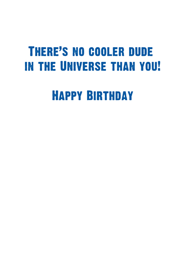Space Dab Birthday Card Inside