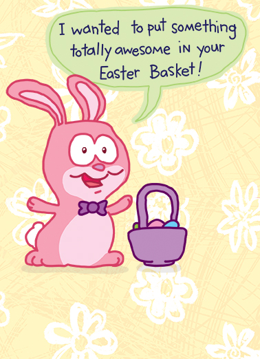 Squishing Easter Ecard Cover
