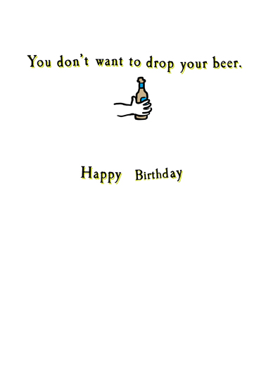 Strong Grip Birthday Card Inside