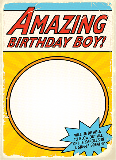Super Birthday Birthday Card Cover