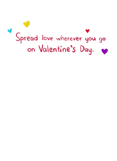 Super-Spreader Valentine's Day Ecard Inside