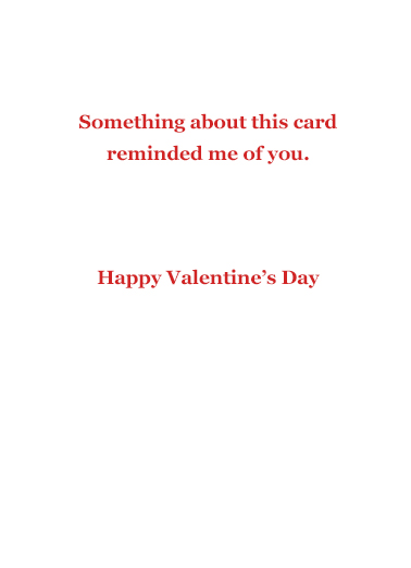 Sweet Sophisticated Val Valentine's Day Ecard Inside