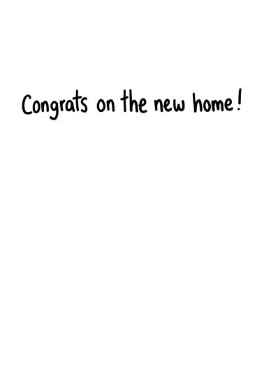 T-Rex key Congratulations Card Inside