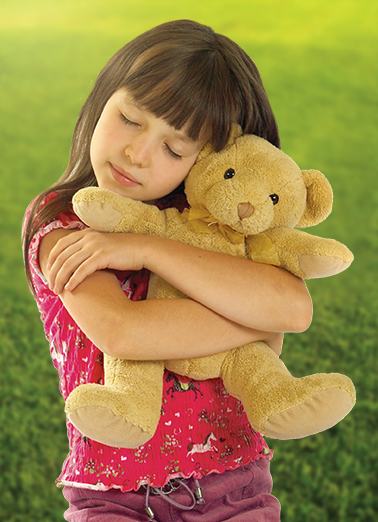 Teddy Hug Miss You Ecard Cover