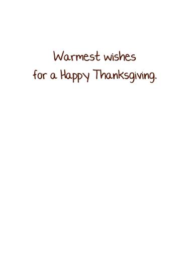 Thanksgiving Smile  Card Inside