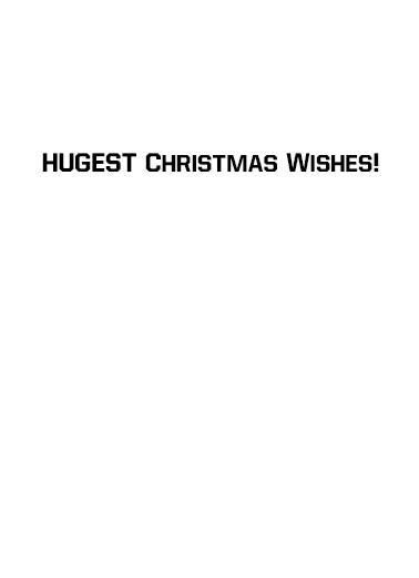 The Donner Christmas Card Inside