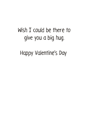 Thing To Do Valentine's Day Card Inside
