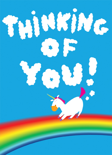 Thinking of You Say Hi Card Cover