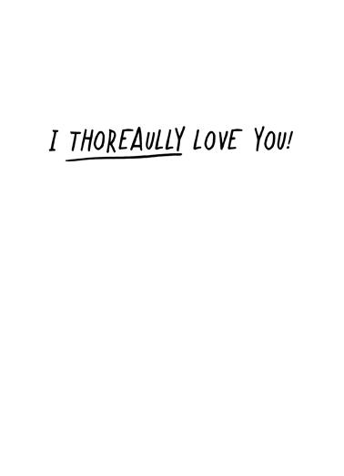 Thoreaully (Love)  Ecard Inside