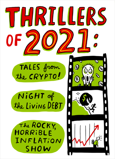 Thrillers 2021 Birthday Card Cover