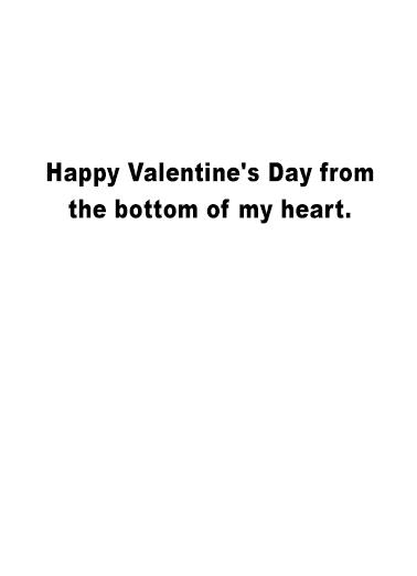 Tin Man's Organ val Valentine's Day Card Inside