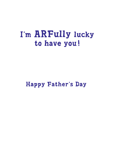 To Grandpaw Father's Day Ecard Inside