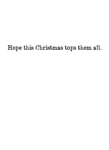 Tree Topper Christmas Card Inside