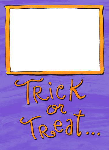 Trick or Treat Halloween Ecard Cover