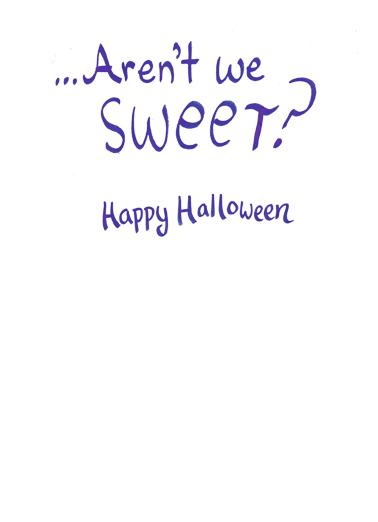 Trick or Treat Halloween Ecard Inside