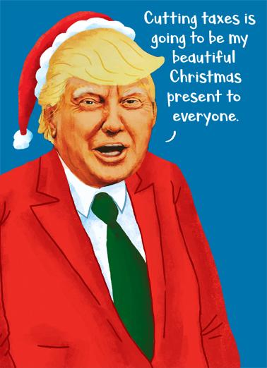 Trump Gift Funny Political Ecard Cover