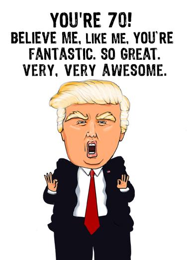Trump Like Me 70  Card Cover