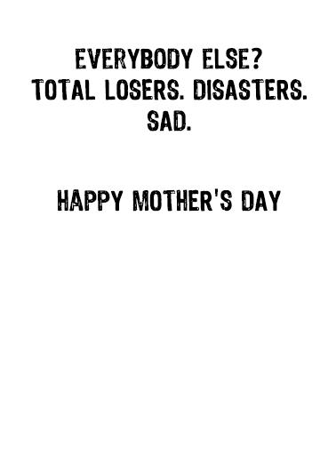 Trump Mom Sad Mother's Day Ecard Inside