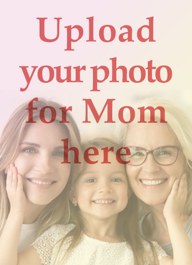 Upload Your Photo Blank MD Mother's Day Ecard Cover