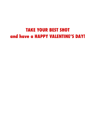 Vaccine in Arm Valentine's Day Card Inside