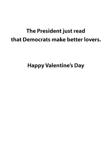 Val Fake News Valentine's Day Ecard Inside
