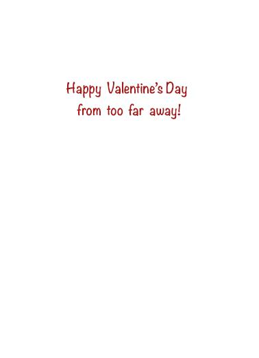 Valentine Safe Distance Quarantine Card Inside