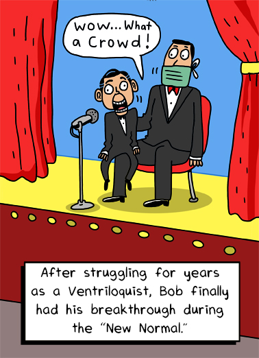 Ventriloquist Quarantine Card Cover