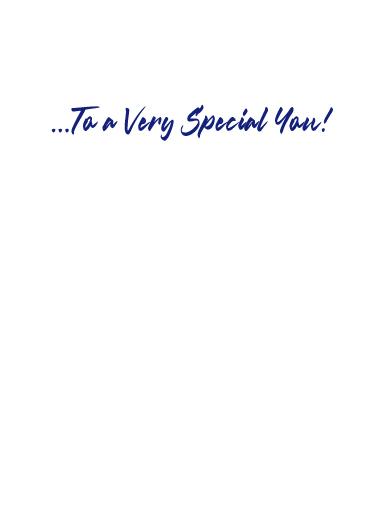 Very Special You Birthday Card Inside