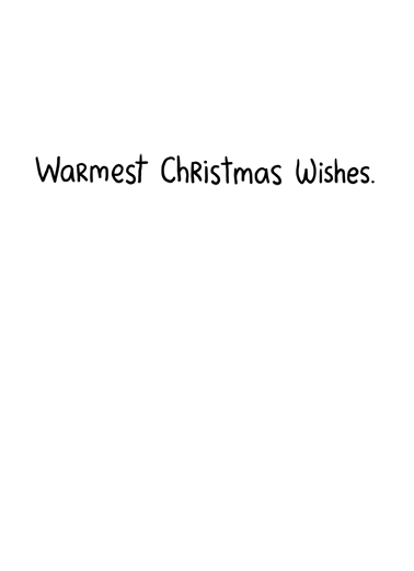 Warm Christmas Wishes Christmas Ecard Inside