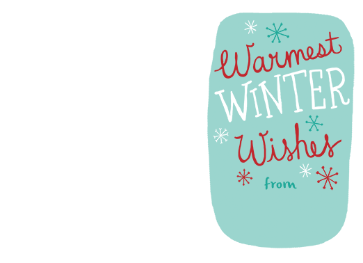 Warm Winter Wishes copy Christmas Card Cover