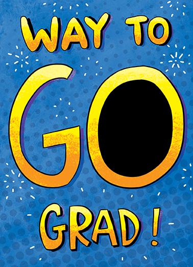 Way To Go Graduation Ecard Cover