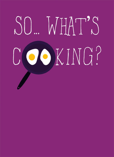 What's Cooking Food Ecard Cover