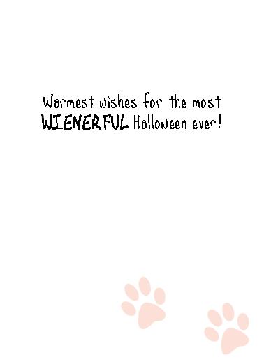Wienerful Halloween Ecard Inside