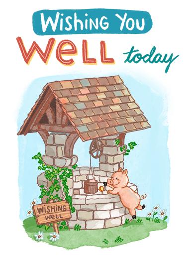 Wishing Well GW  Ecard Cover