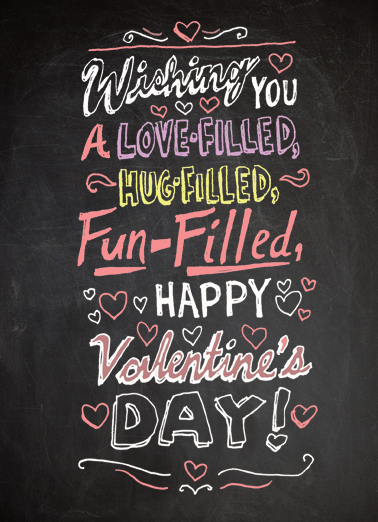 Wishing You Valentine's Day Card Cover