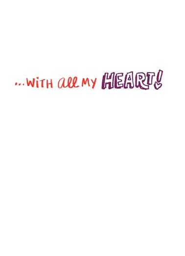 Wishing You Valentine's Day Card Inside