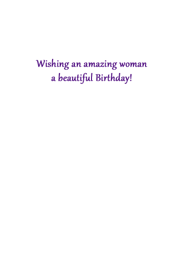 Women with April Birthdays Uplifting Cards Card Inside