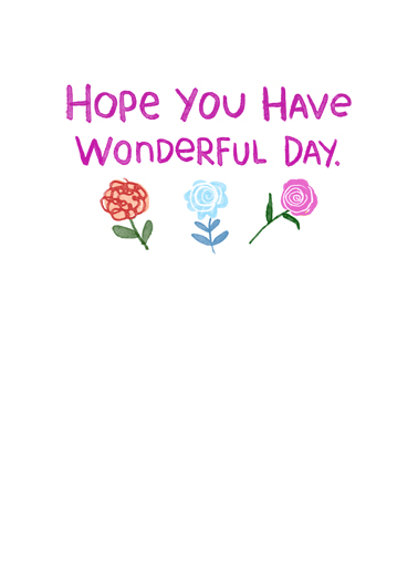 Wonderful Mother's Day Mother's Day Ecard Inside