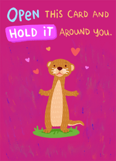 Wrap You VAL Valentine's Day Card Cover