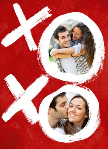 XOXO Valentine's Day Card Cover