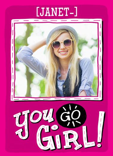 You Go Girl  Card Cover