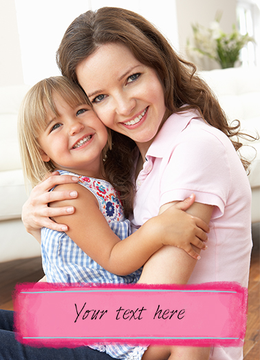 Your Text Here MD Mother's Day Ecard Cover