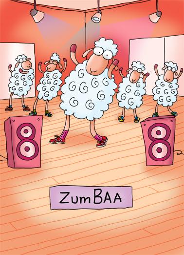 Zumbaa Jokes Card Cover