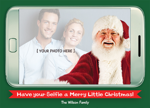 Fun Add Your Photo Christmas Cards and Flats #{product.despcription}